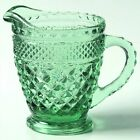Anchor Hocking Wexford Green Creamer 4''