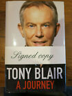 TONY BLAIR Signed Book A JOURNEY Autographed 4th Edition PRIME MINISTER 2010