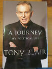 TONY BLAIR Signed Book A JOURNEY Autographed US 1st Edition PRIME MINISTER 2010