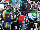 100 Bulk Sticker Pack Dope NASA Space Science Decals For Laptop Skateboard