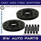 2 PCs 15mm Mercedes Benz 5x112 REAR Hub Centric Wheel Spacers W lug Bolts Kit