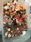 CATS- TY Beanie Babies Lot of 30+, Pounce, Siam, Starlett, Sneaky and Many More!