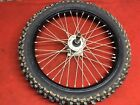 2010 Kawasaki Kx450f Front Wheel Rim Tire Good Shape