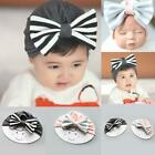 Newborn Hats Baby Cute Striped Bowknot Cap Toddler Soft Beanie Hat GDY7 01