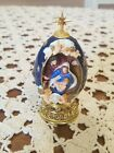HOUSE OF FABERGE Life of Christ Egg THE NATIVITY The Franklin Mint
