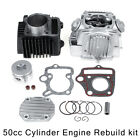 39mm 50cc Cylinder Piston Engine Rebuild For Honda XR50 CRF50 Z50R Z50 Dirt