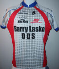 REAL DEAL VINTAGE CHAMP SYS BARRY LASKO DDS BIKE KING Cycling Jersey Mens XL