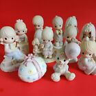 Precious Moments Jonathan  David Figurine Collection Enesco Lot Of 10 No Boxes