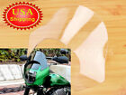Clear Lip Windscreen Windshield Shield Fairing For Harley Dyna Super Glide FXD