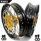 KKE 3.5/5.0 Supermoto CUSH Drive Wheels Rims For KTM690 ENDURO R 2019 SMC 2007