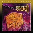 SAINT - TOO LATE FOR LIVING (*NEW-CD, 2020 Gold Disc Remaster) Xian Metal
