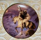 Western Heritage Museum Native American Indian Collector Plates Spirit Wind