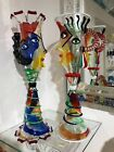 KING AND QUEEN MURANO GLASS SCULPTURES MAKE OFFER each sold separately
