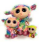 Collector's Set of 3 TY Beanie Boos - DAFFODIL the Lamb - 3