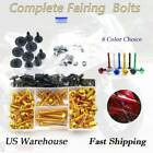 CNC Fairing Bolts Kit Bodywork  Alloy Fit For Buell XBRR 1125R 2008-2019