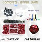 Alloy Complete Fairing Bolt Kit Screws Motorcycle  For Buell XBRR 2006-2007