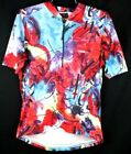 trek cycling vintage 90s mens medium multicolor bike jersey racing shirt bicycle