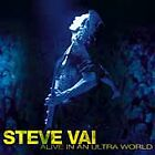 Alive in an Ultra World by Steve Vai (2 CDs,2001, Epic) Like New Ships 1st Class
