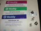 WEIGHT WATCHERS WW 4 CHARMS AND 3 WEEKLIES
