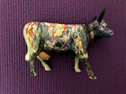 Cow Parade # 9168 Moonet * New York 2000 Retired Design - Excellent Condition