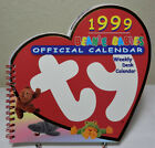 VINTAGE 1999 TY BEANIE BABIES OFFICIAL WEEKLY DESK CALENDAR BOOK! NEW!