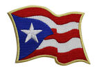 Puerto Rico Flag Embroidered Iron On Patch 3 INCH Rican 051 K