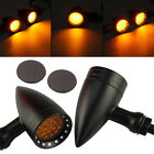20LED Bullet Turn Signal Lamp Stop Brake Grilled Tail Light Universal Motorcycle
