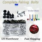 Alloy Complete Fairing Bolt Kit Screws For Kawasaki GTR1400 2004-2017