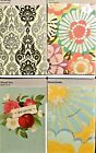 Hallmark BLANK Greeting Cards BLANK Note Cards Pacs of 4 different Designs