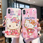 Cute Hello Kitty Glossy Case For iPhone 11 Pro Max XR X 8 7 Armor Protect Cover