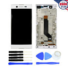 LCD Touch Screen Digitizer Frame for Sony Xperia C7 XA1 Ultra G3223 G3226 White