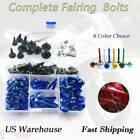 Anodized Fairing Bolts Kit Fastener Clips For BMW R1200GS 2013-2019