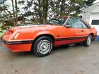 1984 Ford Mustang T Top GT 5.0 Manual 1984 Ford Mustang T Top GT 5.0 Manual
