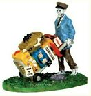 NIP Lemax Spooky Town Collection Scary Luggage 42203, Skeleton Village Figurine