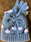 GIRLS CURLS & PEARLS COUTURE BEANIE AND GLOVE SET