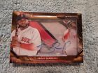 Pablo Sandoval Red Sox 2015 Strata On Card Auto Patch Game Used 2 5