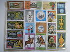 LOT of 19 Hungary Magyar Posta Cancelled Stamps Collection 1970s Colorful
