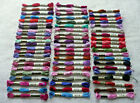 Lot of 60 Skeins DMC Cotton Embroidery Thread Floss Many Assorted Colors