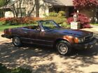 1979 Mercedes-Benz 400-Series Convertible w for $14400 dollars