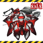 Glossy Red Motorcycle Fairing Bodywork Kit Set Fits BMW S1000RR 2009-2014 10 12