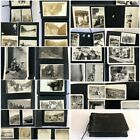 Antique Photographs Album COLORADO Farms COWBOYS New Mexico Horses 100 PICS Cars