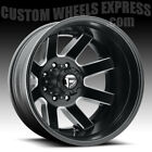 Fuel D538 Maverick Dually Matte Black Milled 24x8.25 8x210 -195mm D53824829325