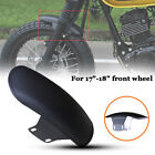 Motorcycle Bikes Front Fender Cover Mudguard Splash Dust Muddy Wheel For 17
