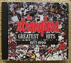 THE STRANGLERS GREATEST HITS 1977-1990 CD - J J BURNEL HUGH CORNWELL JET BLACK