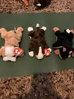 Wrinkles Bruno And Doby Beanie Baby Lot