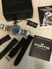 Fortis Men's Official Cosmonauts Watch Chronograph Tachymeter Date.
