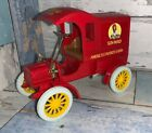 1989 Ertl Collector Bank 1905 Fords First Delivery Truck/car Sunmaid Raisins