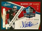 2019 Absolute MARCUS ALLEN Marks of Fame SSP Auto 16 25 Class 2003 HOF Raiders