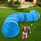 18FT Pet Dog Play Agility Training Tunnel Outdoor Obedience Exercise Equipment