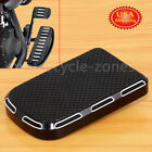 Black Brake Pedal Pad Cover For Harley Road Glide Special FLTRXS FLTRX US